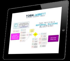 Invisible Referral Machine in iPad