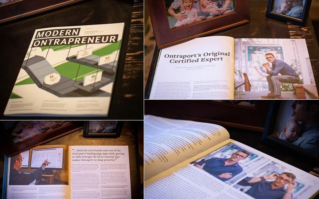 Our Feature in Modern Ontrapreneur Magazine