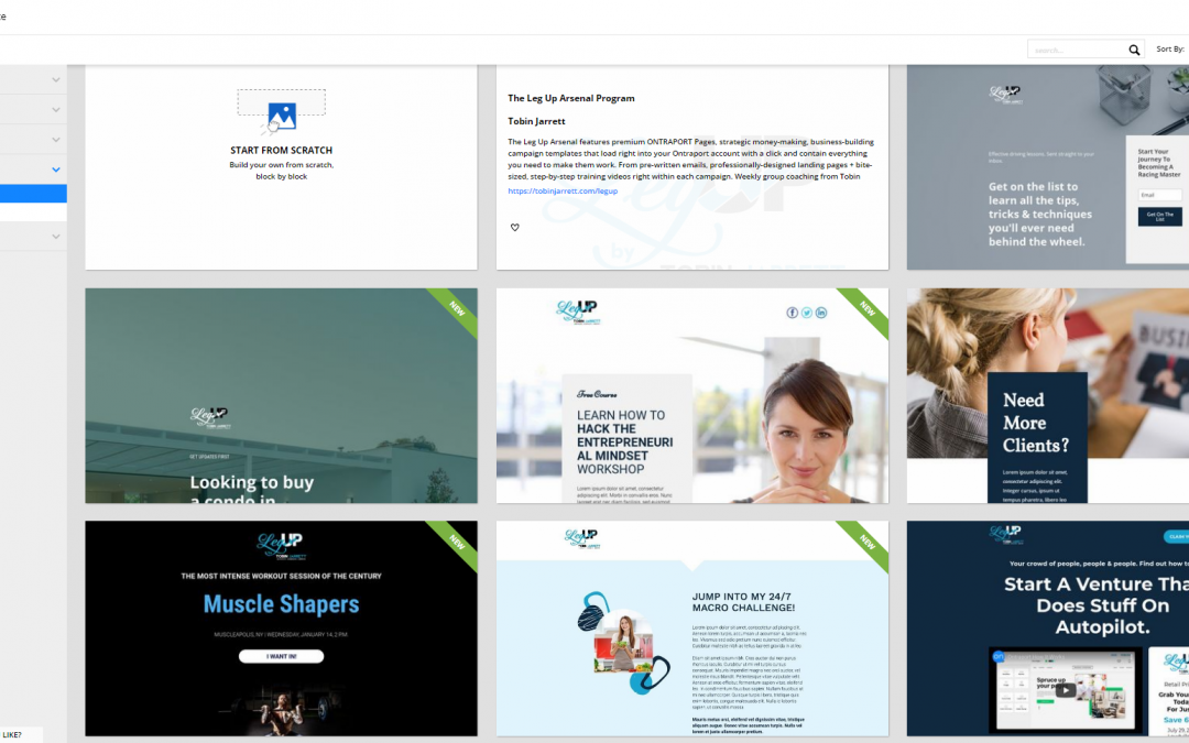 Our FREE Premium Ontraport Page Templates